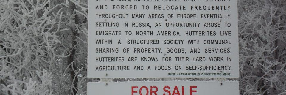22 Greenleaf Hutterite Colony