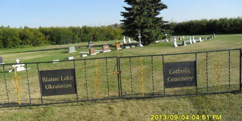 28 Blaine Lake Ukranian Catholic Cemetery